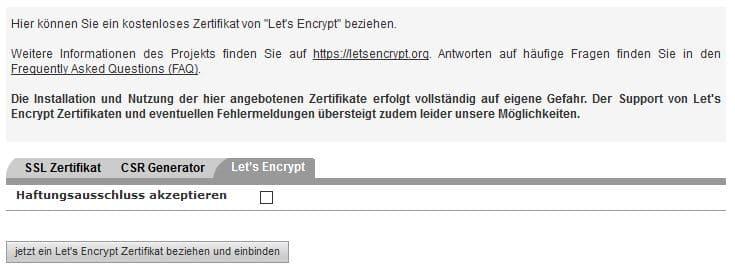 lets encrypt aktivieren all-inkl.com